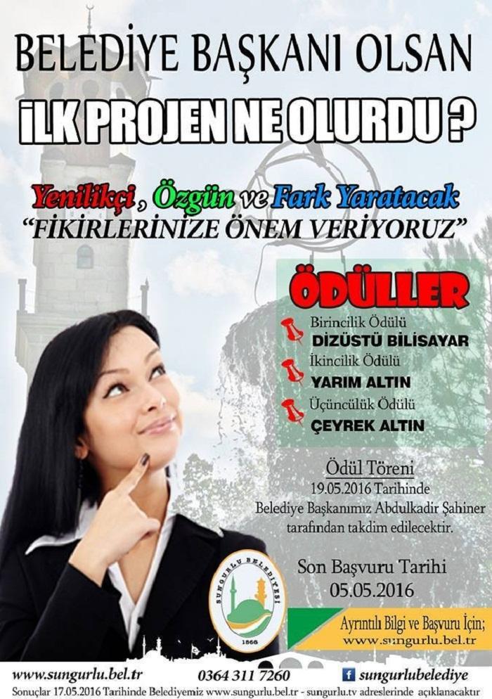 ŞAHİNER YENİ BİR PROJE BAŞLATTI (SERKAN ŞANSEVER/ÇORUM-İHA)