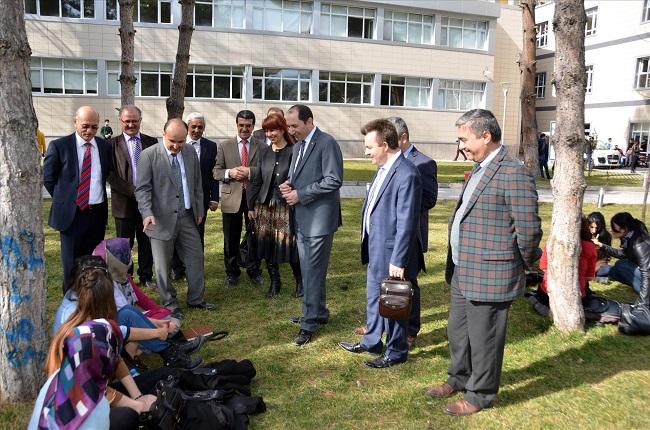 Rektör'den Amasya Üniversitesine Ziyaret