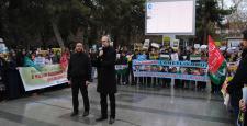 Özgür-Der Suriye Direnişini Selamladı