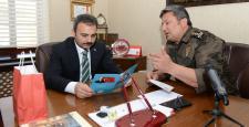 """Kolcu'dan Başkan Külcü'ye """"Polis Haftası"""" Ziyareti"""