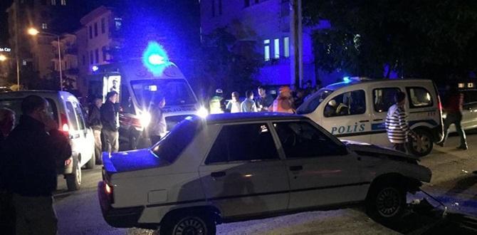 Çorum'da 3 Otomobil  Kaza Yaptı: 1 Yaralı