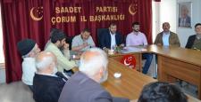 Saadet Partisi İl Divan Toplantısı Yapıldı