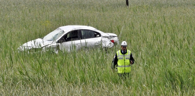 Alkollü Sürücü Kaza Yaptı: 3 Yaralı