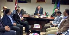 Uslu'dan Türk-İş Çorum Temsilciliğine Ziyaret