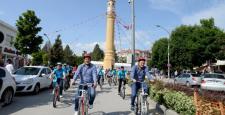 Lise Öğrencilerinde Bisiklet Sevinci