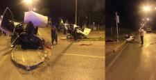 Çorum'da Korkunç Kaza :1 Ölü 4 Yaralı