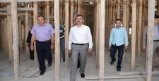 """Başkan Külcü,""""Hz.İbrahim Camii'nde"""" İncelemelerde Bulundu"""
