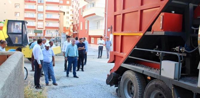 Sungurlu Belediyesi Asfalt Çalışmalarına Başladı