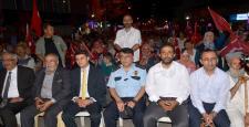 Osmancık'ta Demokrasi Nöbeti Devam Ediyor