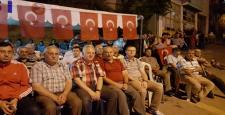 Oğuzlar'da 'Demokrasi Nöbeti' Sürüyor