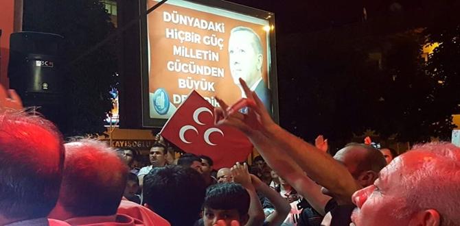 Dün Gece Demokrasi Nöbetinde Neler Oldu?