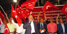 Aydın, 'Kesintisiz Demokrasi Vazgeçilmez İnancımızdır'
