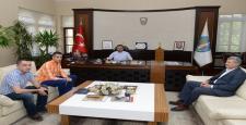 Süper Lig Hakeminden Külcü'ye Ziyaret