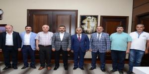 Kooperatif Başkanı Çerikçi'den Başkan Külcü'ye Ziyaret