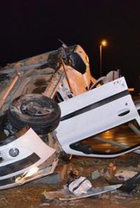 Çorum Kavşağında Kaza: 5 Yaralı