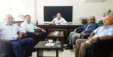 Şahin, PANKOBİRLİK Başkanını Kutladı