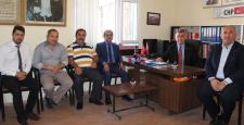 MHP Osmancık Teşkilatından CHP'ye Geçmiş Olsun Ziyareti