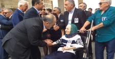Uslu, Özdemir'in Cenazesine Katıldı