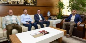 İlkadım Belediye Başkanı'ndan Başkan Külcü'ye Ziyaret