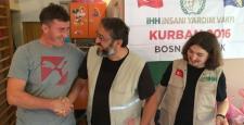 Çorum İHH Bosna'da Kurban Kesti