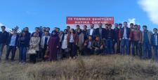 AK Gençlikten 15 Temmuz Hatıra Ormanı