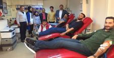 AK Gençlik Kan Bağışında Bulundu