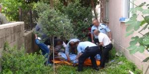 Ağaçtan Düşen Bayan Yaralandı