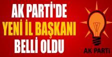 AK Parti Çorum İl Başkanı Belli Oldu