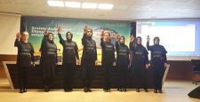 """AK Partili Kadınlar """"Kadına Şiddete Hayır"""" Dediler"""