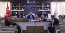 Şekerbank'tan Başkan Şahiner'e Ziyaret