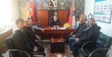 Yurt' tan Emniyet Müdürlüğüne Taziye Ziyareti