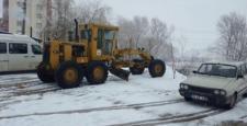 Kar Temizleme Çalışmaları Başladı
