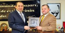 ÇTSO Başkanı Başaranhıncal'a Rektör'den Teşekkür Ziyareti