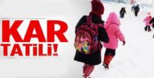 Sungurlu ve Alaca'da Okullar Tatil Edildi
