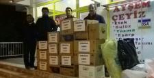 Erbakan Vakfı'ndan Halep'e Yardım