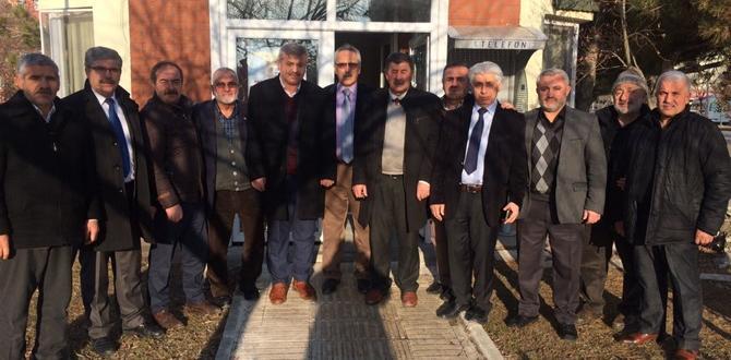 Mahalle Muhtarlarından  'Geçmiş Olsun' Ziyareti