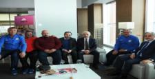 Belediyespor'dan, Cizrespor'a Hoşgeldin Ziyareti