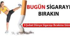 Bugün Sigarayı Bırakın!