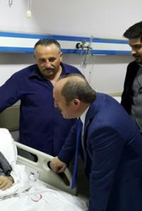 Karadağ'dan Hastalara Ziyaret