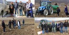 Verim Artırımı İçin Çiftçiler Bilgilendirildi