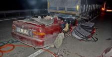 Meydana Gelen Korkunç Kazada: 1 Ölü, 3 Yaralı