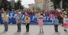 Çorum'da 1 Mayıs Kutlamaları