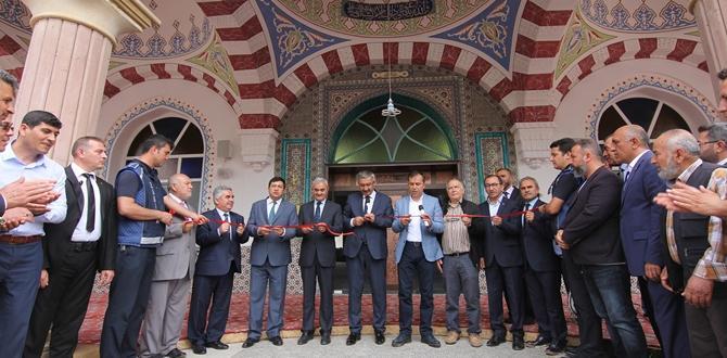 Osmancık Beylerçelebi Camii İbadete Açıldı