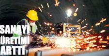 Ülkemizde Sanayi Üretimi % 1,3 Arttı