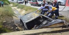 Su Kanalına Düştü: 6 Yaralı