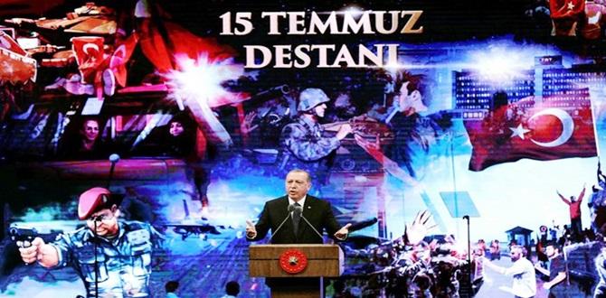 """""""Milletimi Demokrasi Nöbetine Davet Ediyorum"""""""