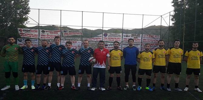 İskilipspor Halı Turnuvası Başladı