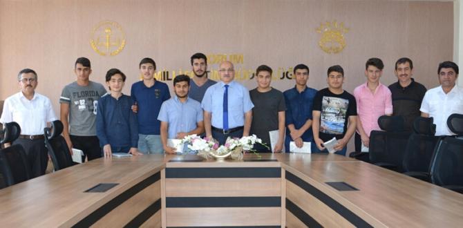 İHL Öğrencilerinden Büyük'e Ziyaret