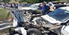 Çorum'da İki Otomobil Çarpıştı: 1 Ölü, 1 Yaralı