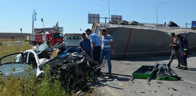 Çorum'da Feci Kaza: 3 Ölü, 2 Yaralı